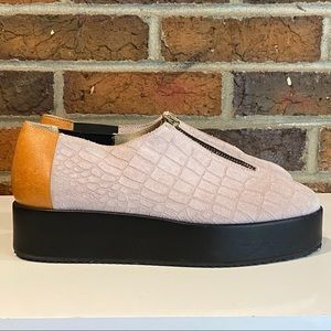 NK By Nirvaan Kahlon MADE IN ITALY Platform Shoe 9